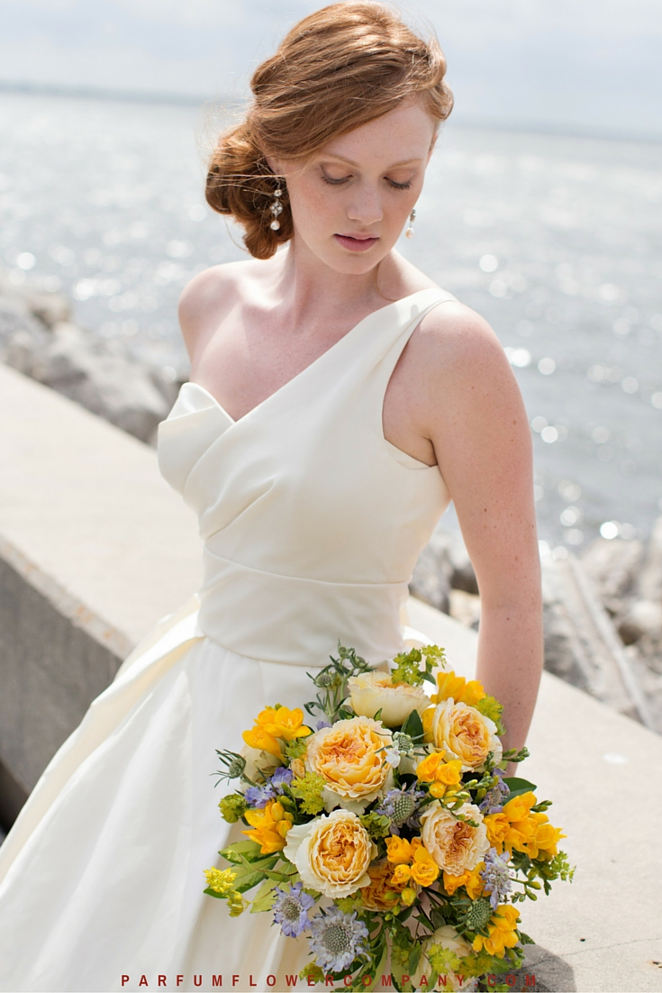 David Austin Wedding Rose Beatrice 015
