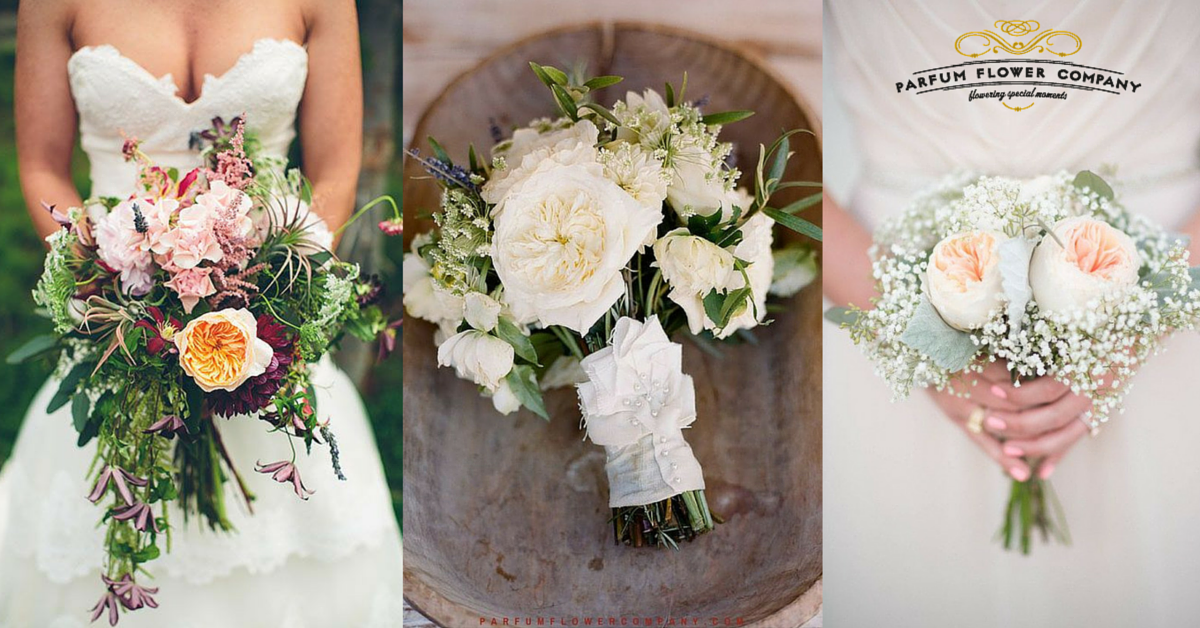 25 stunning wedding bouquets with roses for a perfect wedding