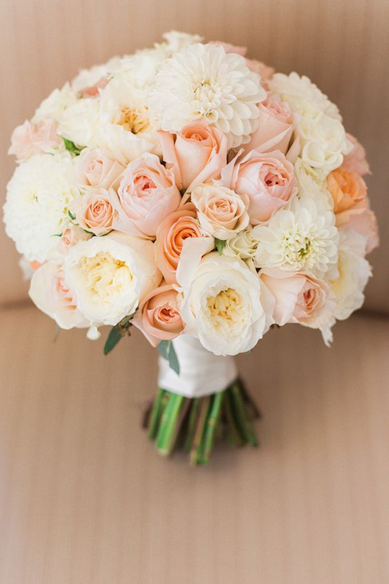 25 stunning wedding bouquets with roses for a perfect wedding ...