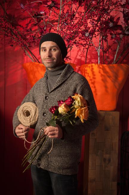 Frederiek Van Pamel, Brugge, interior design and floral arrangements