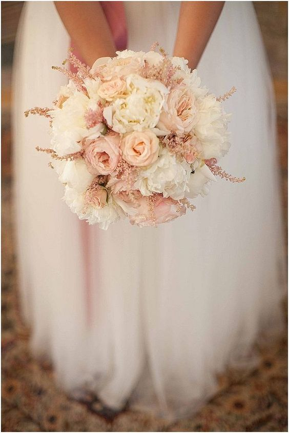 35 inspiring ideas for a blush wedding - Parfum Flower Company