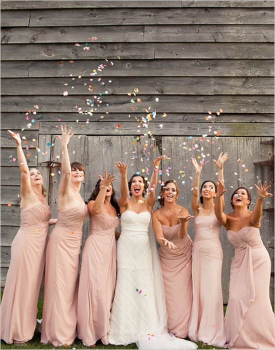 35 inspiring ideas for a blush wedding parfum flower company blush wedding bride and bridesmaids junglespirit Image collections