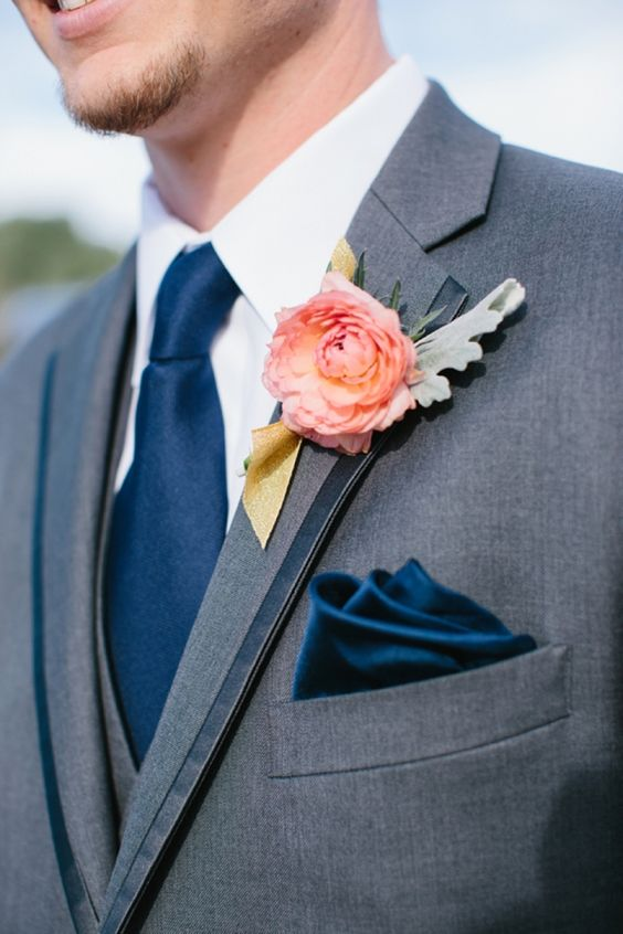 20 great ideas for a pink/navy wedding - Parfum Flower Company