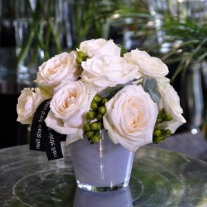 Neill Strain London with Damasque scented roses