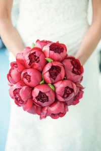 Mono bride's bouquet