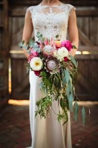 Cascade Bride's bouquet