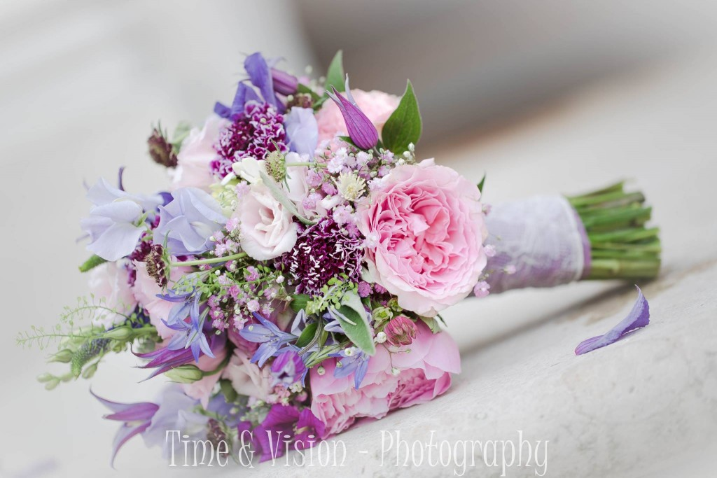 time and vision bridal bouquet