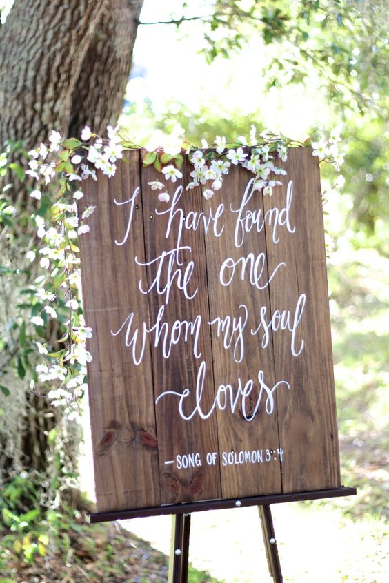 Love these wooden signs I have seen a lot lately!