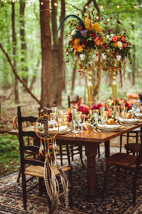 20 Ideas For The Perfect Bohemian Wedding Parfum Flower