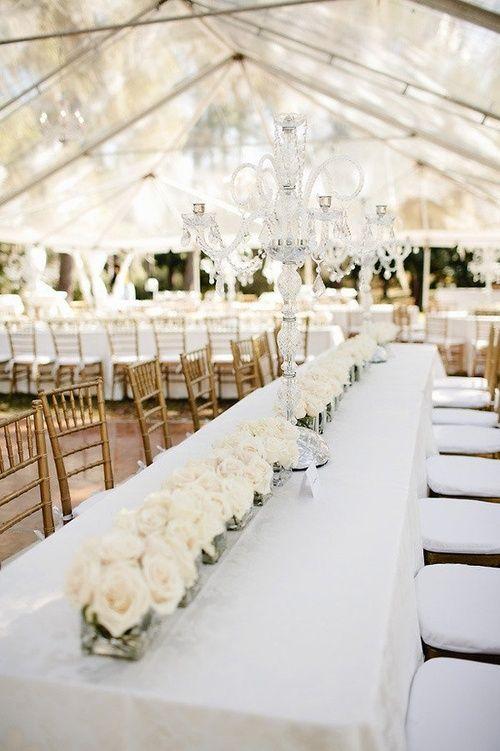 30 Inspiring Ideas For A White Wedding Parfum Flower Company