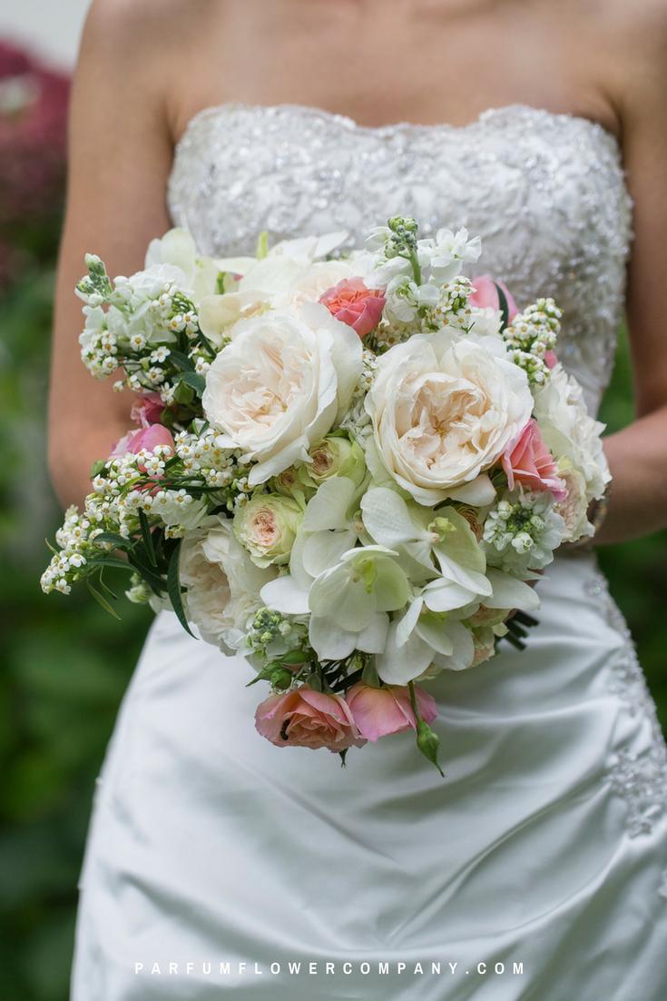 David Austin Wedding Rose Purity Parfum Flower Company