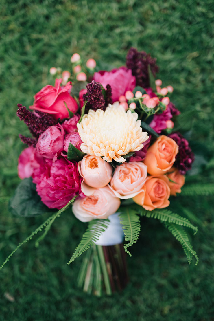 Bold and bright bouquet for this fall!