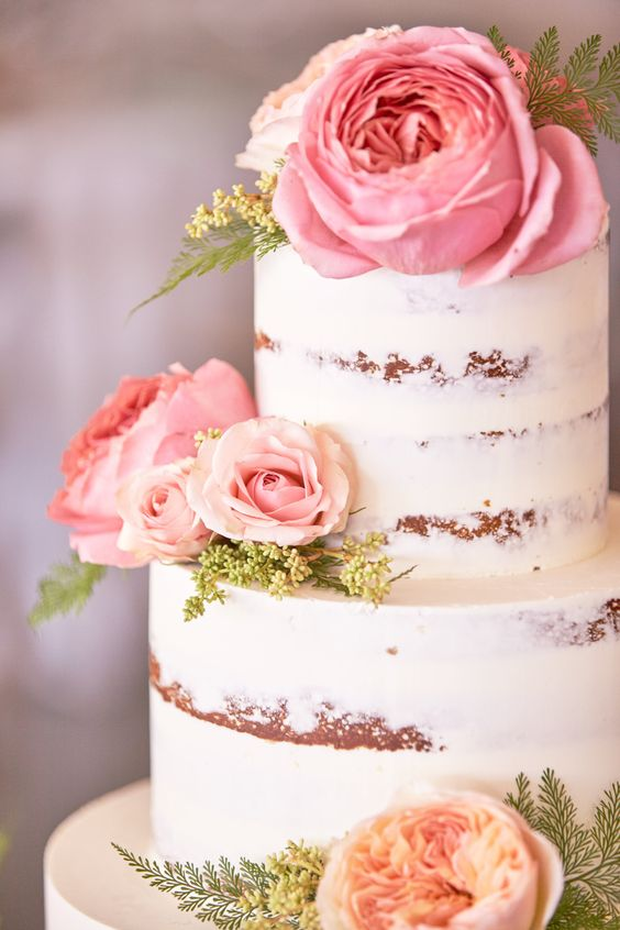 40 Wedding Cakes With Roses You Just Can T Resist