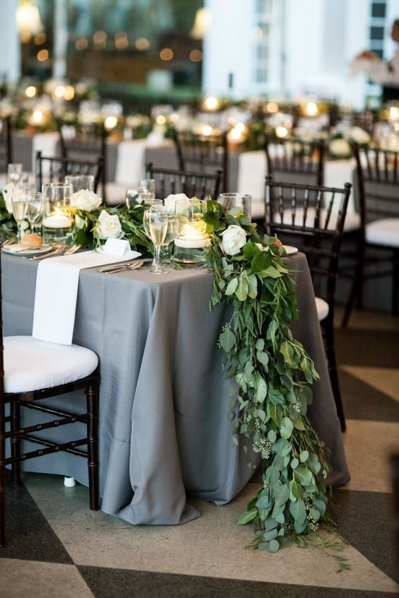 There's nothing more beautiful than gorgeous florals flowing over the tables at a wedding. Floral garlands are an often forgotten-about decor element, but they can have a huge impact on the look of your wedding.