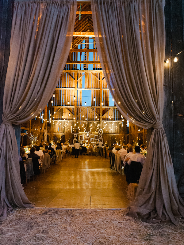 Wedding barn. Great idea for a white/grey wedding theme!