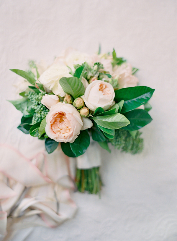 Another delicate and soft bouquet with gorgeous Juliet roses.