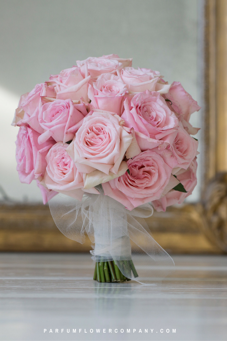 Pink roses for this wedding season: Pink O'Hara