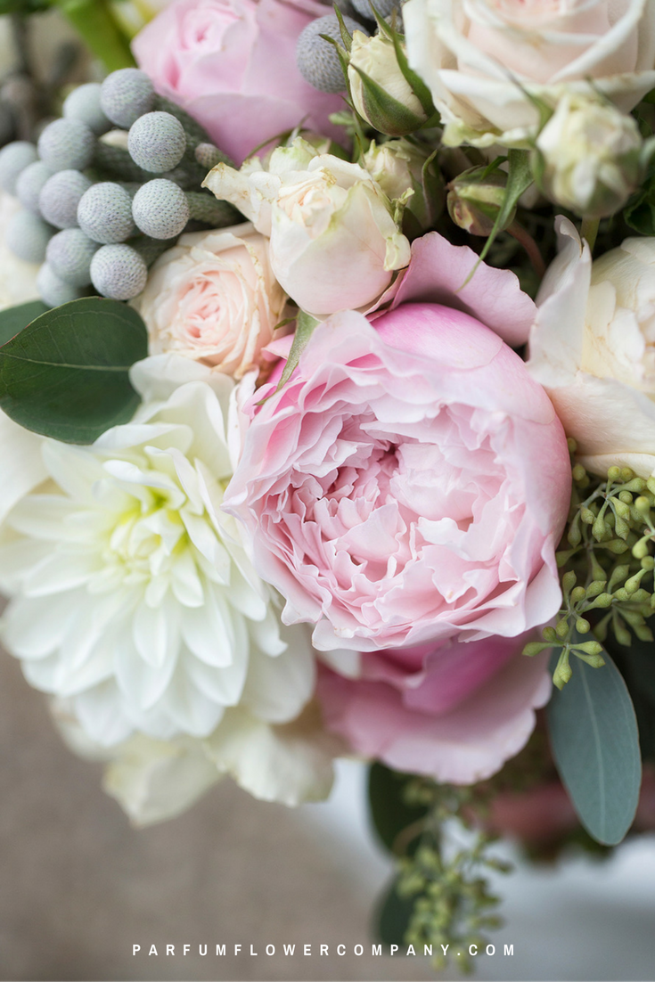Top 10 pink roses for this wedding season. David Austin Rosalind