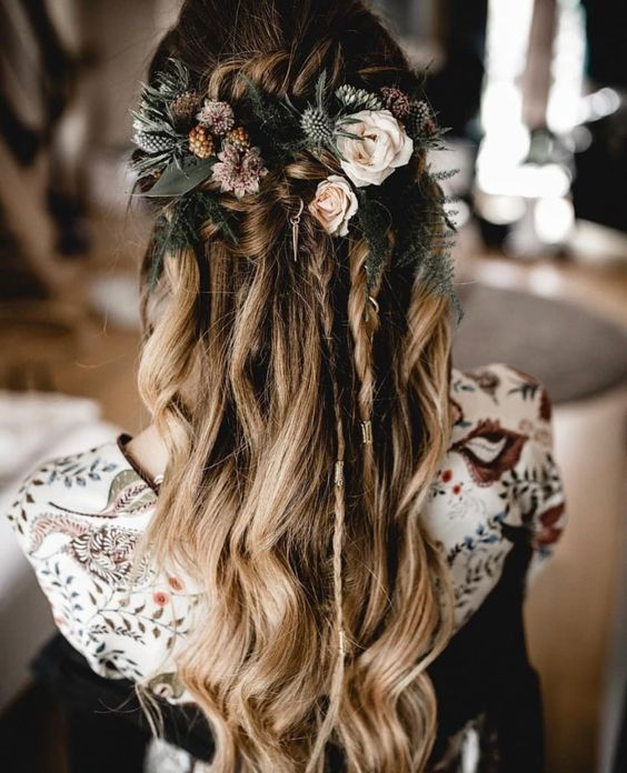 30 mesmerizing hair styles with roses