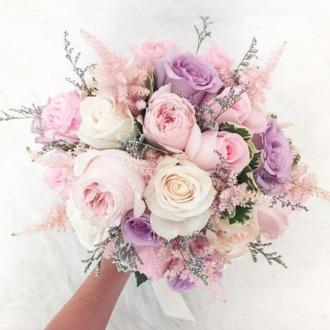 Lovely pinks and pastels. Via Delight Floral Design
