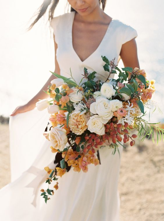 Wedding bouquet. Via Style Me Pretty