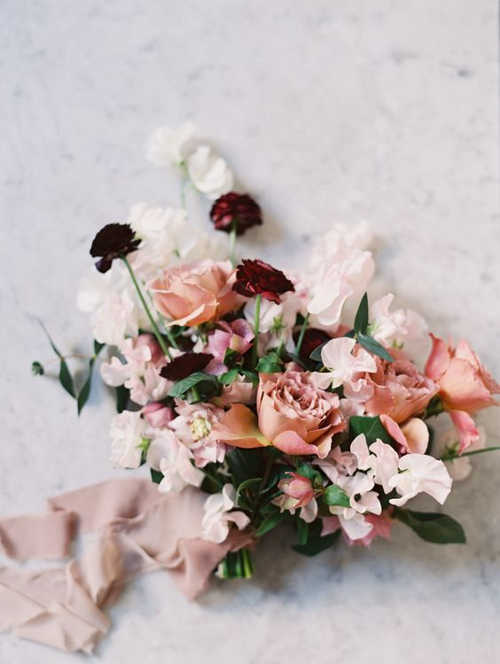 Stunning wedding bouquet for this fall. Via Style Me Pretty