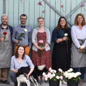 Florismart Florists at Parfum Flower Company Max Hurtaud Workshop